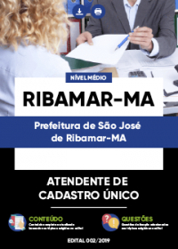 Atendente de Cadastro Único - Prefeitura de São José de Ribamar-MA
