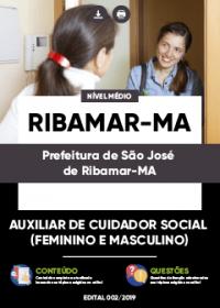 Auxiliar de Cuidador Social - Prefeitura de São José de Ribamar-MA