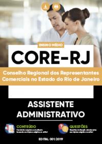 Assistente Administrativo - CORE-RJ
