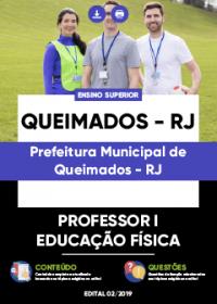 Professor I - Educação Física - Prefeitura de Queimados-RJ