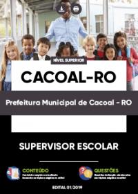 Supervisor Escolar - Prefeitura de Cacoal-RO