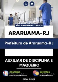 Auxiliar de Disciplina e Maqueiro - Prefeitura de Araruama-RJ