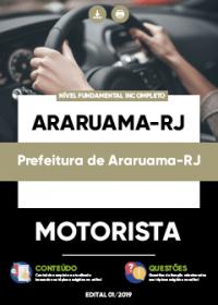 Motorista - Prefeitura de Araruama-RJ