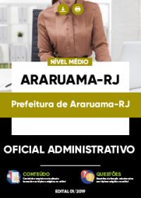 Oficial Administrativo - Prefeitura de Araruama-RJ