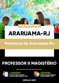 Professor II Magistério - Prefeitura de Araruama-RJ