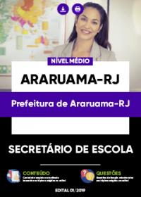 Secretário de Escola - Prefeitura de Araruama-RJ