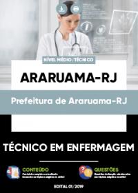 Técnico em Enfermagem - Prefeitura de Araruama-RJ