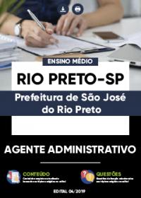 Agente Administrativo - Prefeitura de São José do Rio Preto-SP