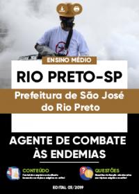 Agente de Combate às Endemias - Prefeitura de São José do Rio Preto-SP