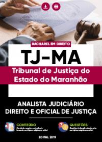 Analista Judiciário - Direito e Oficial de Justiça - TJ-MA