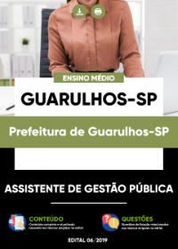 Assistente de Gestão Pública - Prefeitura de Guarulhos-SP