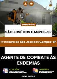 Agente de Combate às Endemias - Prefeitura de São José dos Campos-SP