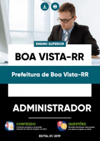 Administrador - Prefeitura de Boa Vista-RR