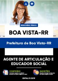 Agente de Articulação e Educador Social - Prefeitura de Boa Vista-RR