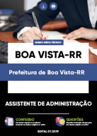 Assistente de Administração - Prefeitura de Boa Vista-RR