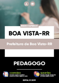 Pedagogo - Prefeitura de Boa Vista-RR