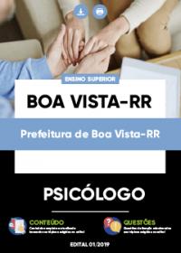 Psicólogo - Prefeitura de Boa Vista-RR