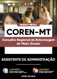 Assistente de Administração - COREN-MT
