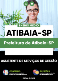 Assistente em Serviços de Gestão - Prefeitura de Atibaia-SP