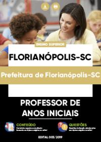 Professor de Anos Iniciais - Prefeitura de Florianópolis-SC