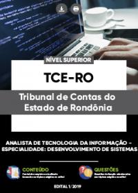 Analista de Tecnologia da Informação - Desenvolvimento de Sistema - TCE-RO