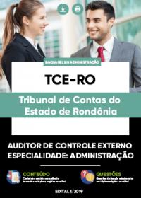 Auditor de Controle Externo - Administração - TCE-RO