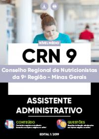 Assistente Administrativo - CRN 9ª Região