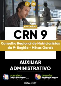 Auxiliar Administrativo - CRN 9ª Região