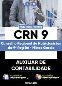 Auxiliar de Contabilidade - CRN 9ª Região