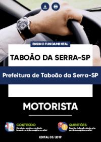 Motorista - Prefeitura Taboão da Serra-SP
