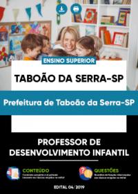 Professor de Desenvolvimento Infantil - Prefeitura Taboão da Serra-SP