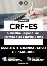 Assistente Administrativo e Financeiro I - CRF-ES