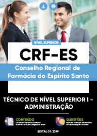 Técnico de Nível Superior I - Administração - CRF-ES