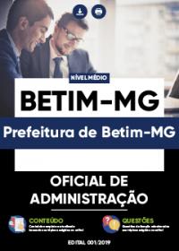 Oficial de Administração - Prefeitura de Betim-MG