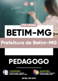 Pedagogo - Prefeitura de Betim-MG