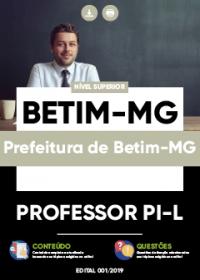 Professor PI-L - Prefeitura de Betim-MG