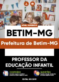 Professor da Educação Infantil - Prefeitura de Betim-MG