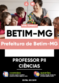 Professor PII - Ciências - Prefeitura de Betim-MG