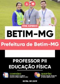 Professor PII - Educação Física - Prefeitura de Betim-MG