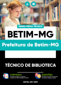 Técnico de Biblioteca - Prefeitura de Betim-MG
