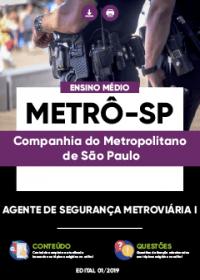 Agente de Segurança Metroviária I - METRÔ-SP