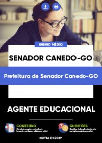 Agente Educacional - Prefeitura de Senador Canedo-GO
