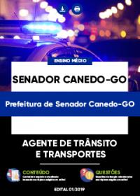 Agente de Trânsito e Transportes - Prefeitura de Senador Canedo-GO