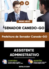 Assistente Administrativo - Prefeitura de Senador Canedo-GO