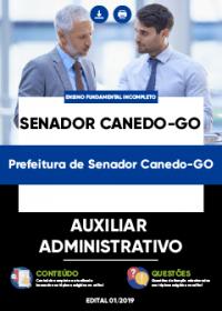Auxiliar Administrativo - Prefeitura de Senador Canedo-GO