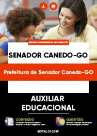 Auxiliar Educacional - Prefeitura de Senador Canedo-GO