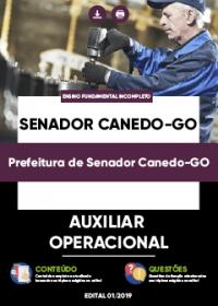 Auxiliar Operacional - Prefeitura de Senador Canedo-GO