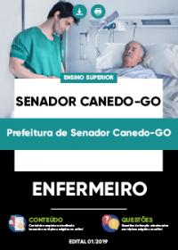 Enfermeiro - Prefeitura de Senador Canedo-GO
