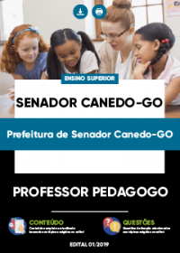Professor Pedagogo - Prefeitura de Senador Canedo-GO