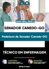Técnico em Enfermagem - Prefeitura de Senador Canedo-GO